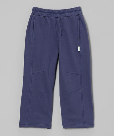 Organic French Terry Pant - Indigo