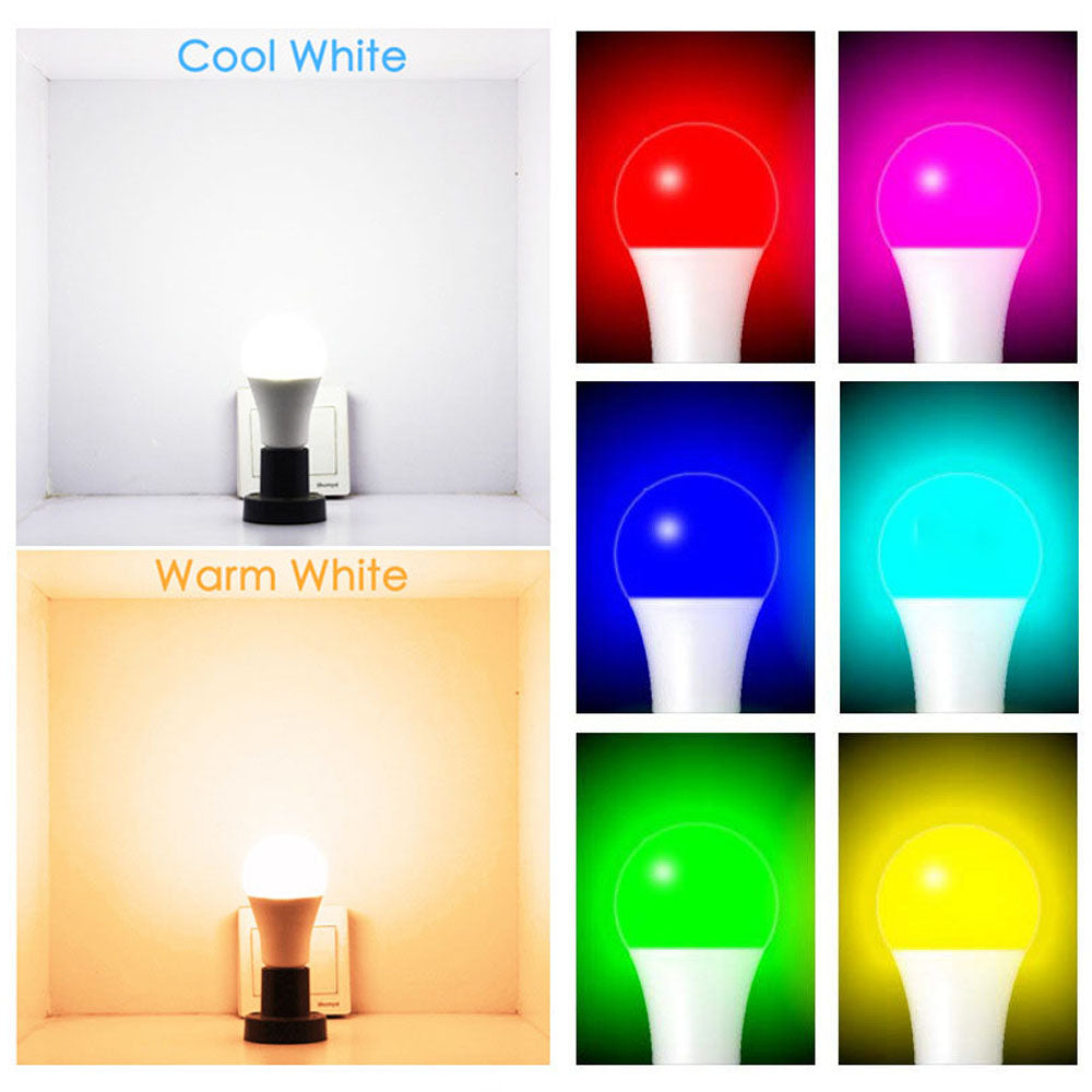 WiFi Smart LED Light Bulb Multicolored Color Changing Lights
