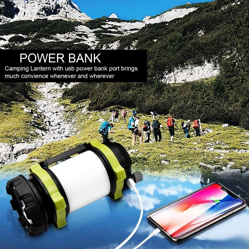 Handheld Multifunction LED Camping Waterproof Lantern