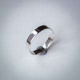 Sterling Silver Ring - 4mm Wide Band