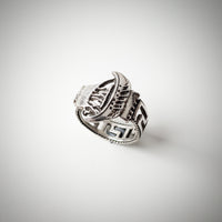 Silver Ship Spoon Ring
