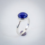 Sterling Silver and Lapis Lazuli Ring - Simplicity