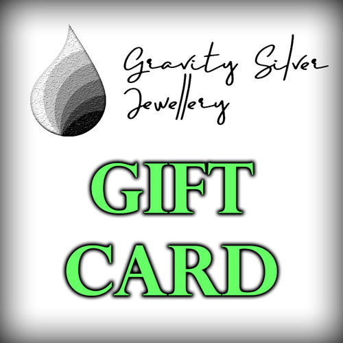 Gravity Silver Jewellery Gift Card