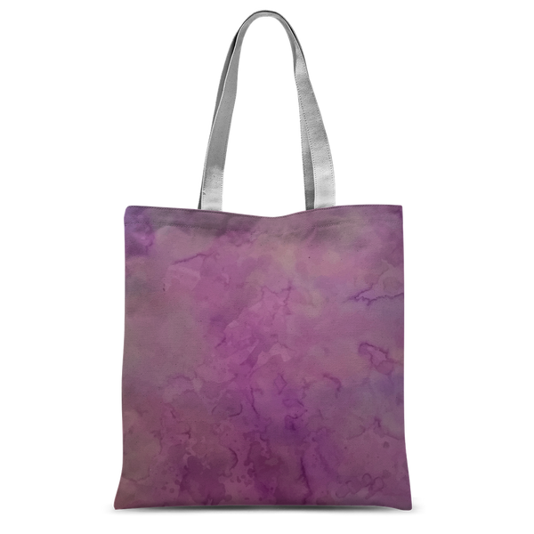 Purple salt Classic Sublimation Tote Bag