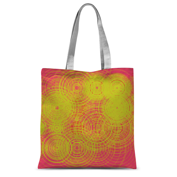 ripple - yellow Classic Sublimation Tote Bag