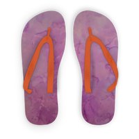 Purple salt Kids Flip Flops
