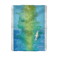 Water Sublimation Baby Blanket