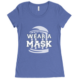 Wear a mask UNC - women's crew