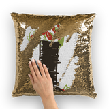 Tree Sequin Cushion Cover