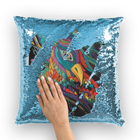 peak Sequin Cushion Cover