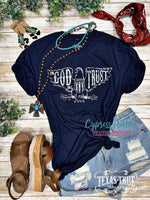 In God We Trust Tee - Cypress Hollow Trading Company