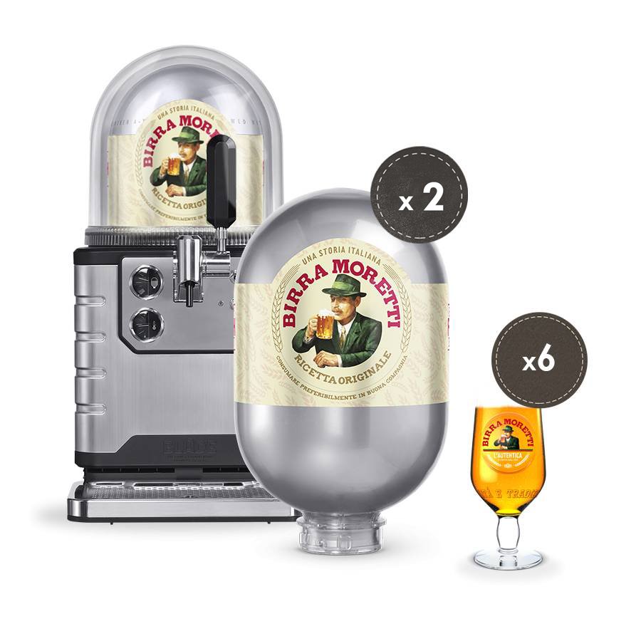 BIRRA MORETTI STARTER BUNDLE - PRE-ORDER (Delivery around end of April 2021)