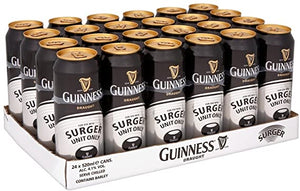 Guinness Draught Surger, 24 x 520ml (Old Stock - Past best before Jan 2021)