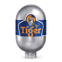 Load image into Gallery viewer, EU Tiger Lager 8L BLADE KEG ABV 5%