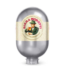 Load image into Gallery viewer, UK Birra Moretti 8L BLADE KEG