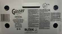 Load image into Gallery viewer, EU Gösser Stifts-Zwickl hell 8L BLADE KEG