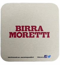 Load image into Gallery viewer, BIRRA MORETTI BEER MATS
