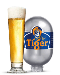 Gift Pack Tiger Lager 8L BLADE KEG & 50cl Glass