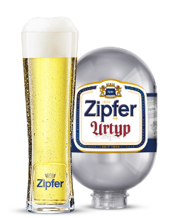 Gift Pack EU Zipfer Urtyp 8L BLADE KEG & 50cl Glass