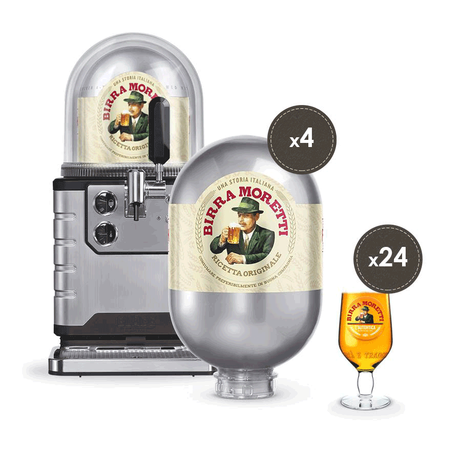 EU MORETTI PROFESSIONAL BUNDLE WITH EU KEGS