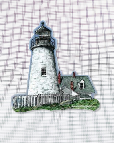"Pemaquid Light (6.25"" x 6"")"
