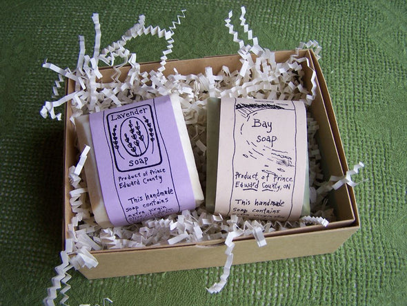 Two Soap Gift Box