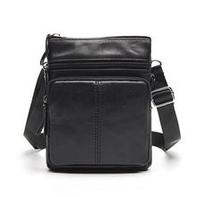 Load image into Gallery viewer, Messenger Bag Men's Shoulder Genuine Leather bags Flap Small male man Crossbody bags for men natural Leather bag