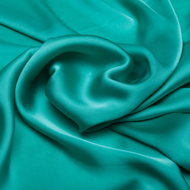 Super Soft Quality Dress Fabric Satin Chiffon Material Imitate Silk