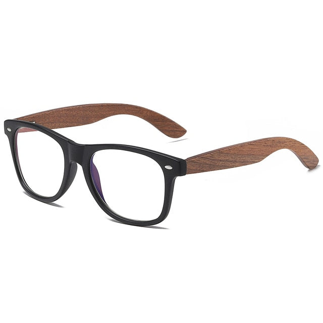 GM Environment-Friendly Retro Black Walnut Wood UV400 Polarized Bamboo Sunglasses Men's Fashion Trendy Anti Blue Lens S7061h