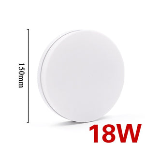EnwYe 6W 9W 13W 18W 24W 36W 48W LED Circular Panel Light Surface Mounted led ceiling light AC 85-265V lampada led lamp