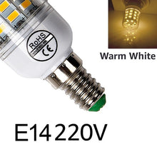 Load image into Gallery viewer, LED Bulb E27 LED Light Bulb 220V LED Lamp Warm White Cold White E14 for Living Room