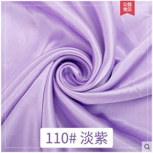 Satin Fabric Silk Cloth 150*100cm Handmade DIY For Box Lining Home Dress Curtain Wedding Party Decoration Sewing Background D30