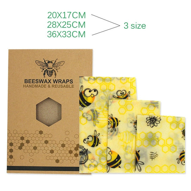 Reusable beeswax fresh-keeping packaging sealed food packaging film vacuum food storage beeswax fresh cloth kitchen tools