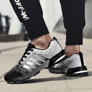 Men Sneakers 2019 Casual Mens Shoes Breathable Trainers Fashions Mesh Man Sneaker Basket Tenis Hombre Unisex Shoe Big Size 35-47