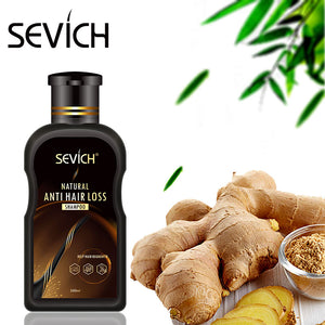 sevich 200ml hair loss treatment shampoo hair care shampoo bar ginger hair growth cinnamon anti-hair loss shampoo