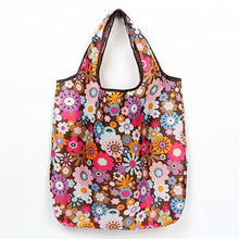 Load image into Gallery viewer, Reusable Eco-Friendly Grocery Foldable Shopping Bags Small Size Premium Quality Slight Duty Folding Tote Bag With Handle