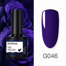 Load image into Gallery viewer, Gelfavor UV Nail Gel 8ml For Manicure Nail Set Kit UV LED  Base Top Coat For Painting Extension Nail Art Gel Varnishes Lacquer
