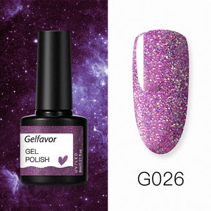 Gelfavor UV Nail Gel 8ml For Manicure Nail Set Kit UV LED  Base Top Coat For Painting Extension Nail Art Gel Varnishes Lacquer