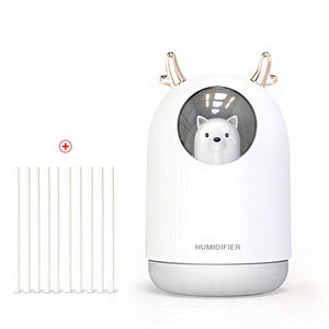 Air humidifier  Essential Oil Diffuse eliminate static electricity clean air Care for skin Nano spray technology 7 color lights