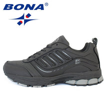 Load image into Gallery viewer, BONA New Most Popular Style Men Running Shoes Outdoor Walking Sneakers Comfortable Athletic Shoes Men  For Sport Free Shipping