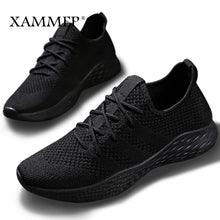 Load image into Gallery viewer, Men Sneakers Men Casual Shoes Brand Men Shoes Male Mesh Flats Plus Big Size Loafers Breathable Slip On Spring Autumn Xammep