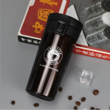 Load image into Gallery viewer, HOT Premium Travel Coffee Mug Stainless Steel Thermos Tumbler Cups Vacuum Flask thermo Water Bottle Tea Mug Thermocup