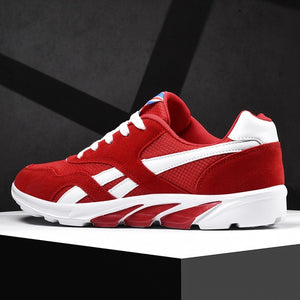 PUAMSS 2020 New Running Shoes Mens Sport Sneakers Quality Male Jogging Shoes Laces Athletic Sneakers Size 39-46
