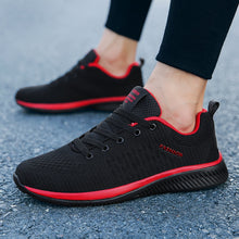 Load image into Gallery viewer, Men Running Shoes Breathable Male Comfortable Mesh Lace-up Sport Shoes Trend Lightweight Flexible Soft Outdoor Walking Sneakers