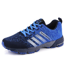 Load image into Gallery viewer, New 2019 Men Running Shoes Breathable Outdoor Sports Shoes Lightweight Sneakers for Women Comfortable Athletic Training Footwear
