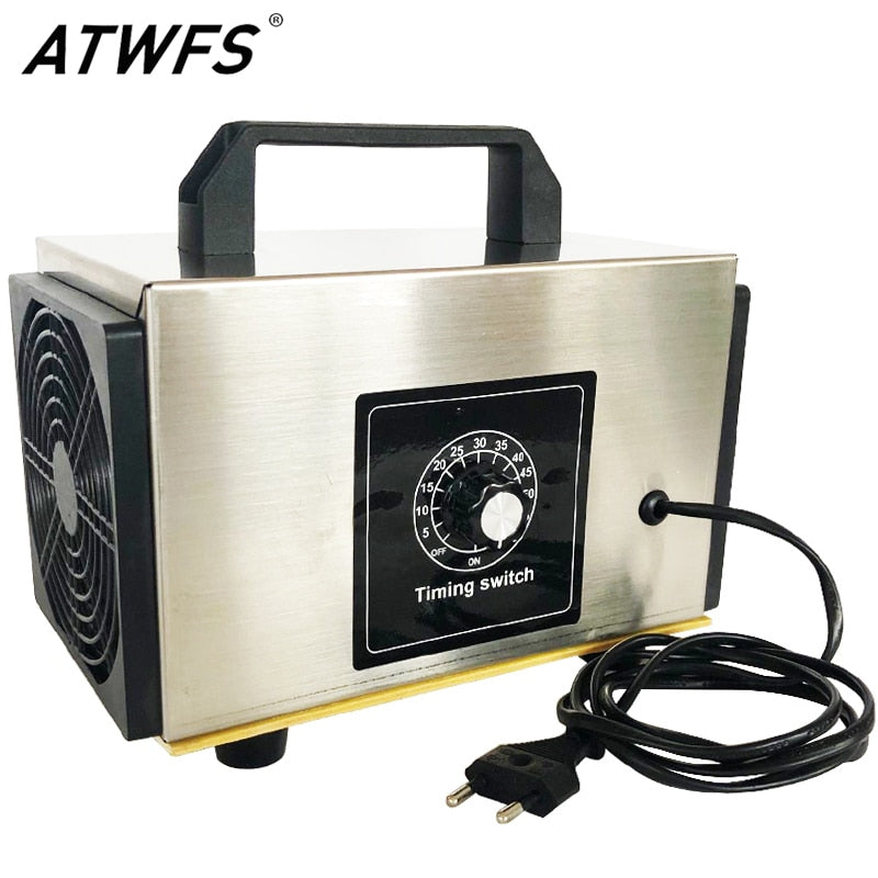 ATWFS Air Purifier Ozone Generator 220v 36g/28g/24g Air Cleaner Home Ozonator Portable Ozon Ozonizer O3 Generator with Timing