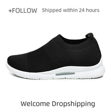 Load image into Gallery viewer, Men Light Running Shoes Jogging Shoes Breathable Man Sneakers Slip on Loafer Shoe Men's Casual Shoes Size 46 DropShipping