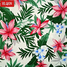 Load image into Gallery viewer, HLQON cotton printed Cashew flowers fabric used for Textile patchwork sewing women  dress  clothing skirt shoe by 100x150cm