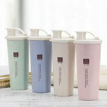 Load image into Gallery viewer, Wheat Straw Water Bottle With Mouth Single-layer Wheat Fragrance Carry-on Cup for Home Office Car Outdoor School