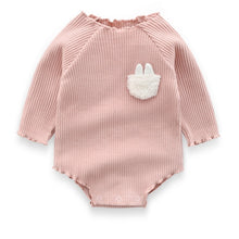 Load image into Gallery viewer, Cute Baby Girls Clothes Spring Autumn Cotton Long Sleeved Bodysuit Baby Bag Fart Jumpsuit Sibling Outfits Newborn Infant Clothes